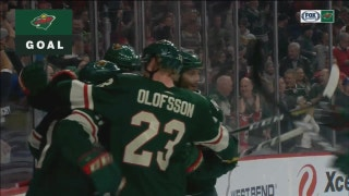 WATCH: Wild score trio of early goals