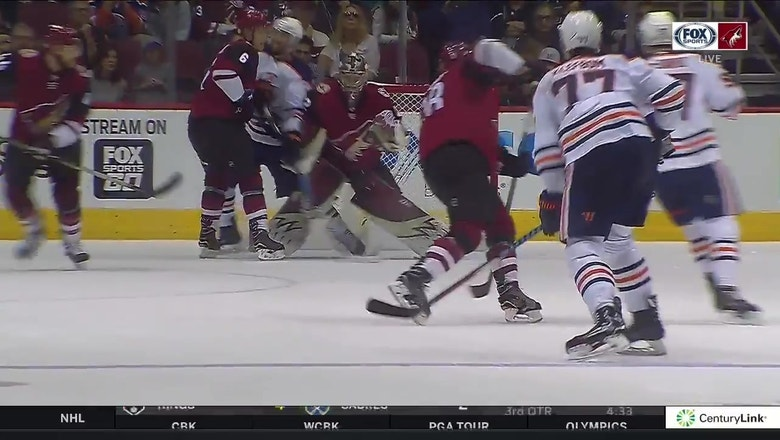 WATCH: Goaltender interference call preserves Coyotes' 1-0 win