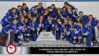 Is USA women's hockey the story of these Winter Olympics?