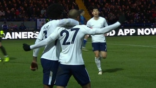 Lucas Moura equalizes for Tottenham against Rochdale | 2017-18 FA Cup Highlights