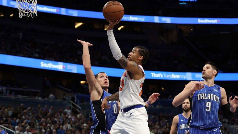 Aaron Gordon, Nikola Vucevic return but Magic can't hold off slumping Knicks in home loss