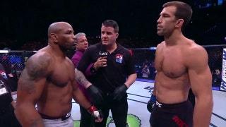 Luke Rockhold vs Yoel Romero | HIGHLIGHTS | UFC 221