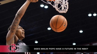 Does Malik Pope have a future in the NBA?