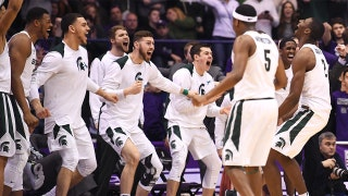 No. 2 Michigan State stages historic comeback to beat Northwestern