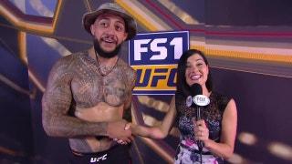 Tyson Pedro talks to Megan Olivi post-fight | INTERVIEW | UFC 221