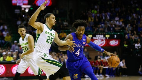 Jayhawks suffer 80-64 upset loss to Baylor