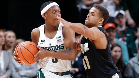 Bridges' 3-pointer lifts MSU past Purdue