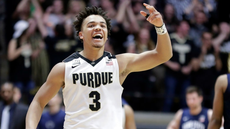 Carsen Edwards pushes No. 6 Purdue past Penn State 76-73