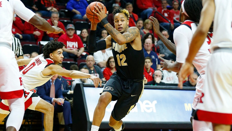Purdue squeezes past Rutgers 78-76 for 19th straight victory
