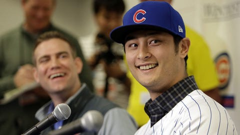 Yu Darvish sweepstakes (⬇ DOWN)
