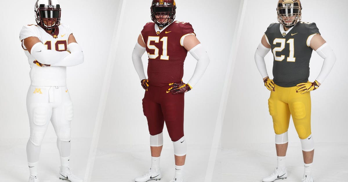 Minnesota Gophers unveil new football jerseys for 2018 6720d7497