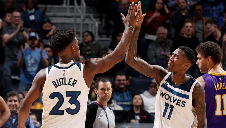 Timberwolves sneak past Lakers 119-111