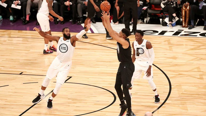 Towns scores 17, Butler sits in Team Stephen's 148-145 loss