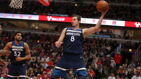 Nemanja Bjelica, Timberwolves forward (⬇ DOWN)