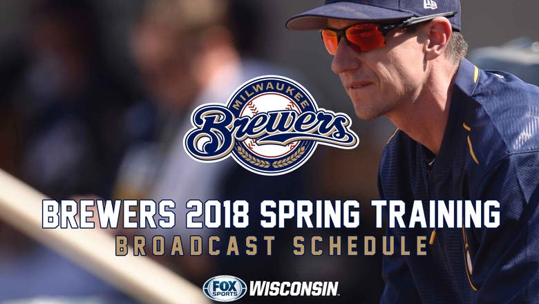 FOX Sports Wisconsin to televise 12 Brewers spring training games
