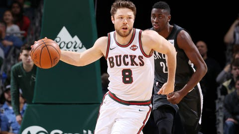 Matthew Dellavedova (ankle) to spend 3-4 weeks on Bucks' sidelines