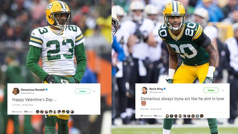 Damarious Randall & Kevin King, Packers defensive backs