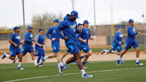 Royals spring training 2018