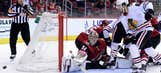Coyotes score season-high 6 goals, send Blackhawks to 6th straight loss
