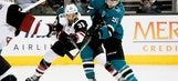 Goligoski stays hot as Coyotes top Sharks