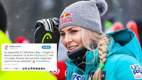 Lindsey Vonn, Olympic alpine skier