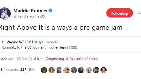 Maddie Rooney, Minnesota Duluth goalie