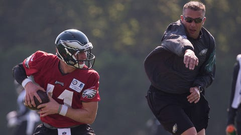 Vikings to hire Eagles QB coach John DeFilippo as offensive coordinator