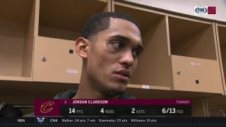 Getting stitches is just part of the game, says Jordan Clarkson