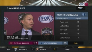 Ty Lue on what the new guys bring to the Cavs