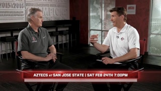 Brian Dutcher looks ahead to San Jose State, Boise games