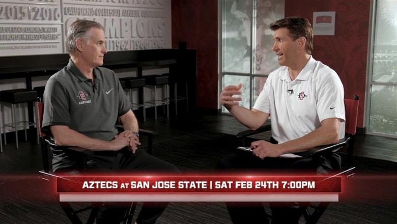 Brian Dutcher looks ahead to San Jose State, Boise games