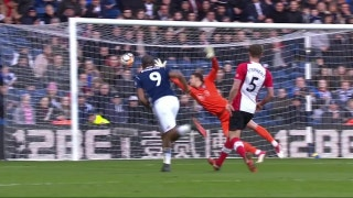Rondon scores fantastic volley for West Brom vs. Southampton | 2017-18 FA Cup Highlights