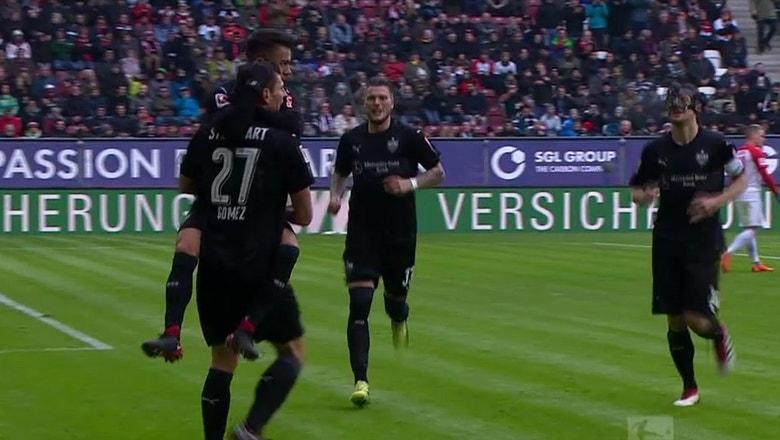 FC Augsburg vs. VfB Stuttgart | 2017-18 Bundesliga Highlights