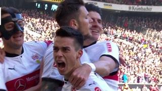 VfB Stuttgart vs. Eintracht Frankfurt | 2017-18 Bundesliga Highlights