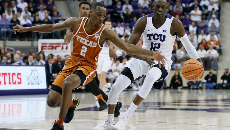 TCU cruises past Texas 87-71 in matchup of NCAA hopefuls