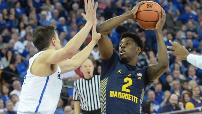 Marquette rallies back from 15-point deficit to top Creighton