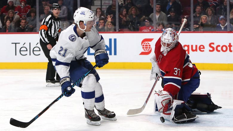 Lightning top Canadiens in shootout, regain top spot in NHL