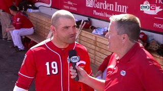 Joey Votto accepts the 'worst' hitting advice
