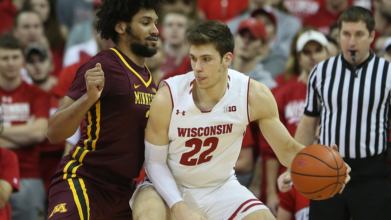 Wisconsin's late surge lifts the Badgers past Minnesota in overtime.