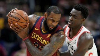 Colin Cowherd on LeBron 'owning these baby dinosaurs'
