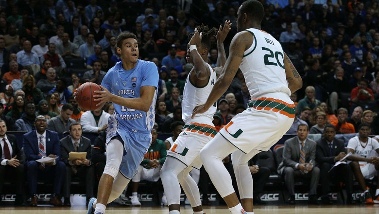 Miami grabs early lead, falters in 2nd half in loss to UNC in ACC quarterfinals