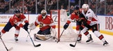 Panthers allow 2 late goals, fall to Senators to end franchise-record home winning streak