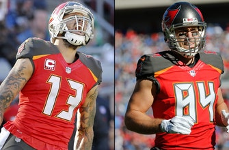 Staying put: Buccaneers sign WR Mike Evans, TE Cameron Brate to new contracts