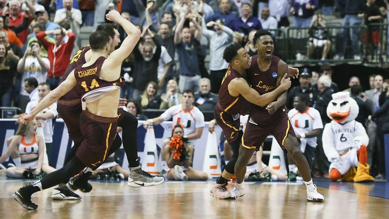 Loyola-Chicago ousts Miami from NCAA Tournament on last-second 3-pointer