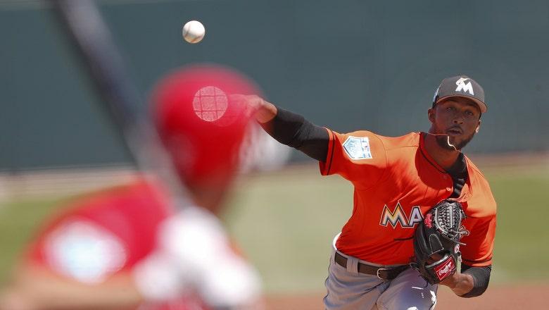 Sandy Alcantara allows 3 runs in 4 innings, Marlins fall to Cardinals split-squad