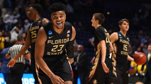 Seeded Xavier blows late lead, falls to Florida State