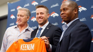 Shannon Sharpe reacts to Case Keenum as John Elway's top QB choice
