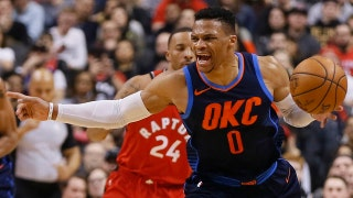 Skip Bayless on Russell Westbrook's triple-double as OKC snaps Toronto's 11-game win streak