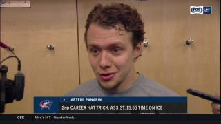 Artemi Panerin on season with CBJ: 'I'm enjoying every moment'