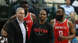 Shannon Sharpe explains how Houston can dethrone an unhealthy Golden State team